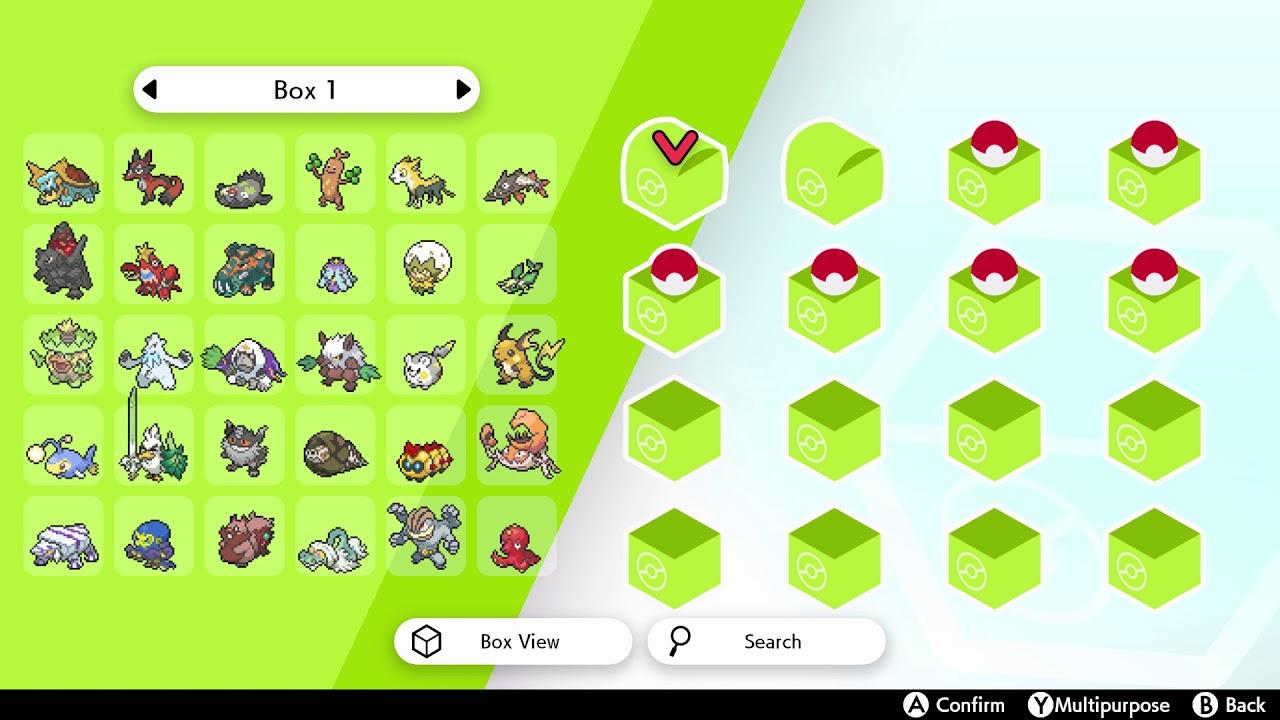Pokemon Pc Box Wallpaper