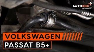 Nainstalovat Guma stabilizátoru sám - video návody na VW PASSAT