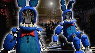 WITHERED BONNIE (Posable Figure) | FNAF : ULTIMATE CUSTOM NIGHT | Air Dry Clay Tutorial