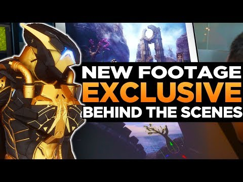 Exclusive Anthem Behind the Scenes | New Event Armor, Animations, Cinematics & More | EA Play 2019