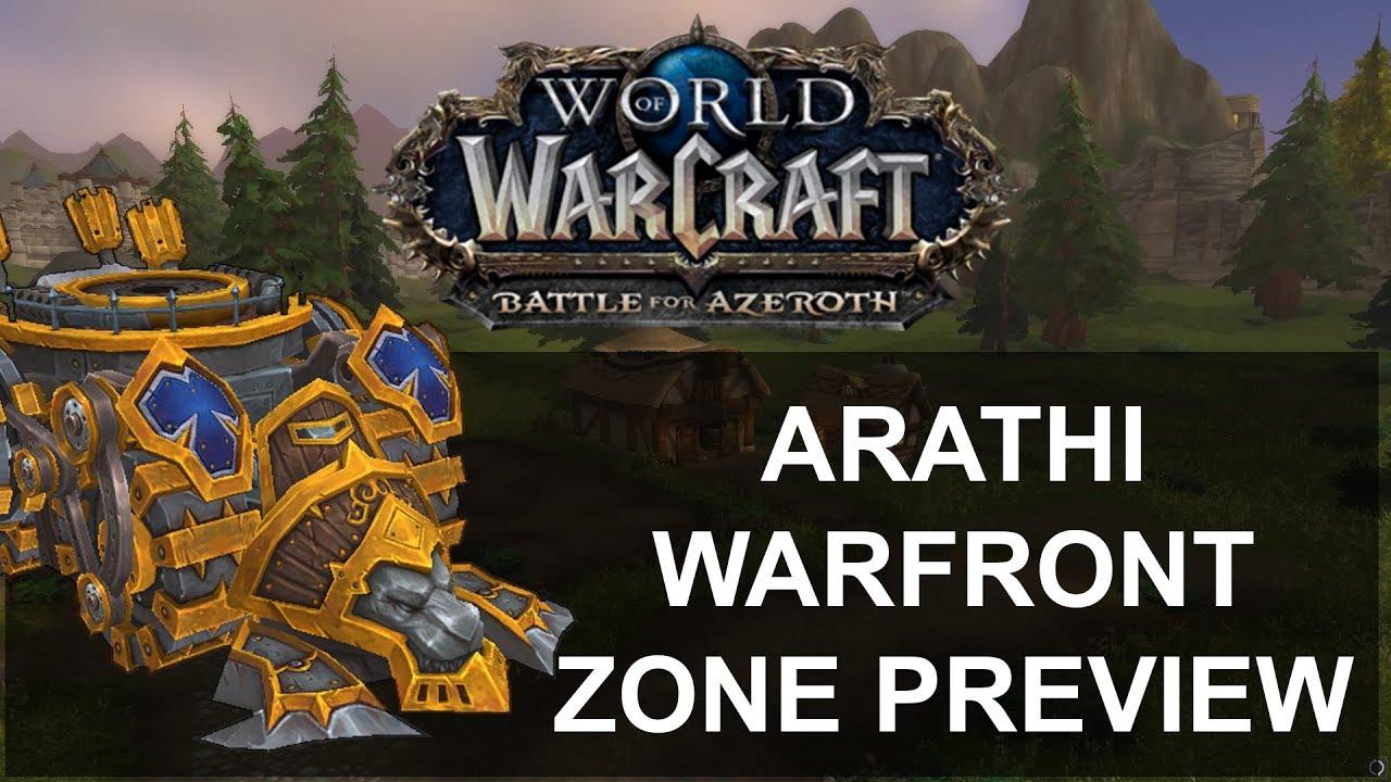 Arathi Warfront