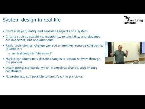 Systems and security (advanced): Professor Jon Crowcroft, University of Cambridge