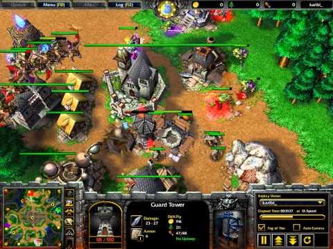 WarCraft 3 - Frozen Throne - 2v2 - G1 - WC043
