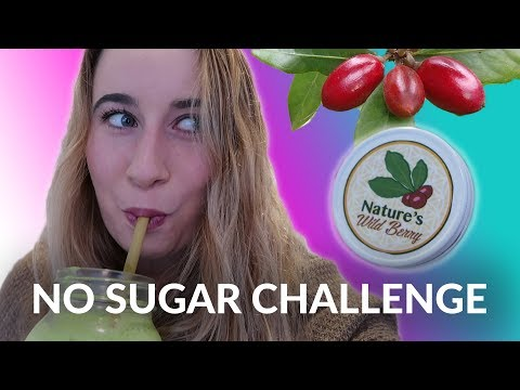 NO SUGAR FOR ONE WEEK using the MIRACLE BERRY!