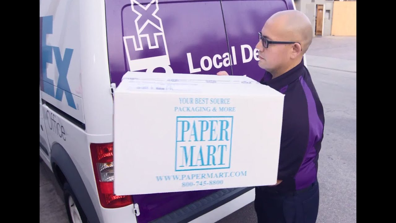 FedEx Features Paper Mart for SameDay City Delivery