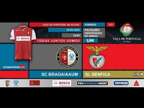 FUTSAL | SCBraga / AAUM vs Sport Lisboa e Benfica