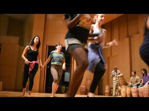 UNT African Dance and Percussion Ensemble Oct 2017