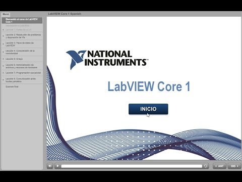 labview core 1 leccion 1 10 introducci n y partes de un vi youtube rh youtube com labview core 1 course manual pdf download Work Training Manual