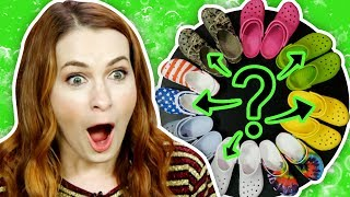 Mystery Crocs RETURN with Felicia Day