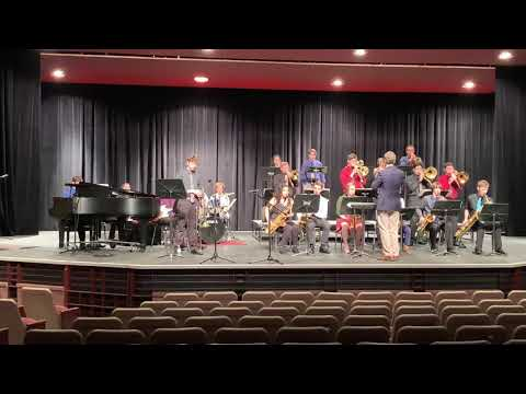 2018-2019 Titusville high school jazz band MPA