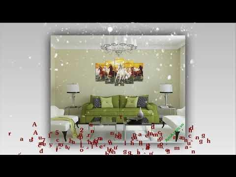 10 bức tranh phong thủy treo tường phòng khách ý nghĩa nhất