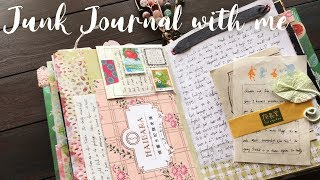 JUNK JOURNAL WITH ME S1:E8 | Junk Journaling Process | How I use my Junk Journal