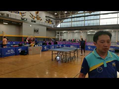 Second Annual Hawkeye USATT Open - Open Finals: Azeez Jamiu (2644) vs. Raymond Lui (2329)