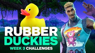 Fortnite: Duck Locations, Salty Springs Treasure Map, and Week 3 Challenges