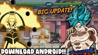 BIG UPDATE!! DOWNLOAD NARUTO VS BLEACH M.U.G.E.N APK PARA ANDROID ATUALIZADO!! (+GAMEPLAY)