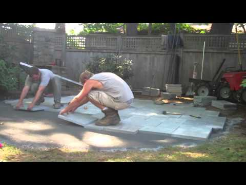 How to Build a Bluestone Patio: Part Two