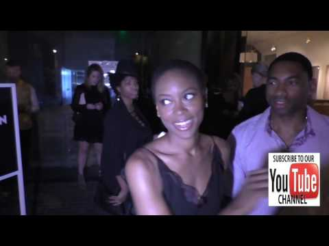 Tracy Ifeachor talks about favorite Halloween candy outside EP & LP Nightclub in West Hollywood