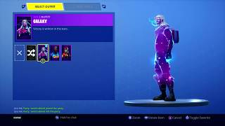 Fortnite Selling Galaxy Skin Account (Make Offers)