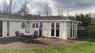 Super de luxe chalet met eigen grond op Droompark Buitenhuizen in Velzen