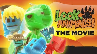 Look, Animals! | Official Stikbot Movie