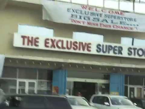 Monrovia City roads, LIBERIA, West Africa, 12 November 2011