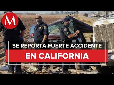 Murieron 10 mexicanos por accidente automovilístico en California: SRE