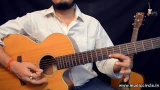 Ajeeb Dastan guitar lesson melody tabs | 1st Hindi Lesson aur Kuch Baatein  and Detailed explanation