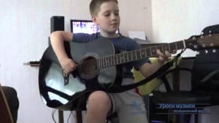"""Отзыв об уроках игры на гитаре в музыкальной школе """"MUZE"""", Даниил, 8 лет"""