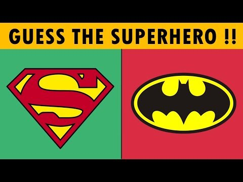 Superhero Logo Quiz Challenge - Only True Fans Can Answer in 10s