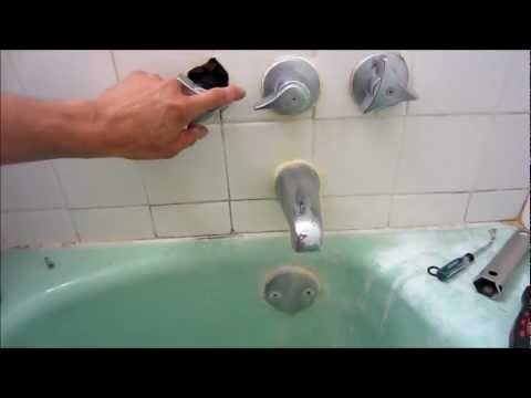 how to fix a leaky twohandle shower faucet