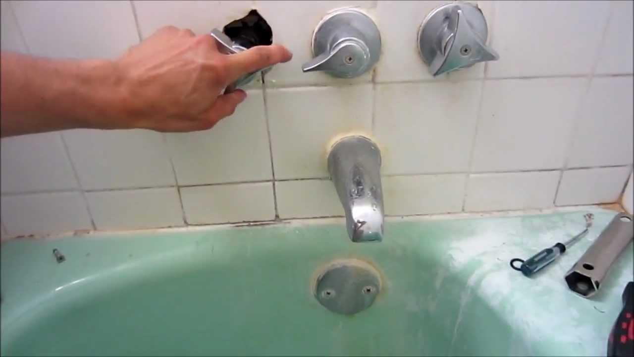 repair leaky shower faucet