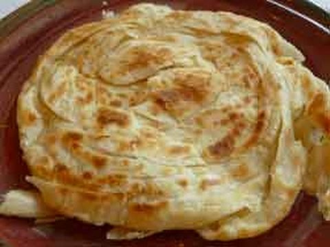 Malabar Parotta Kerala Paratha Indian Bread Recipe Youtube