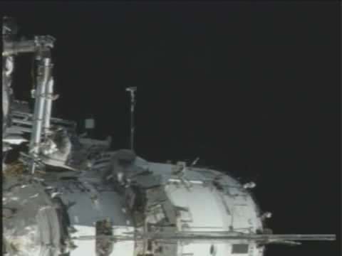 International Space Station Crew Takes a Pre-Christmas Stroll in Space