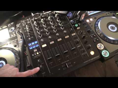 Pioneer DJM900 NEXUS Tutorial 3. Headphone's and cue