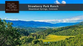 Strawberry Park Ranch Colorado - Steamboat Springs Colorado