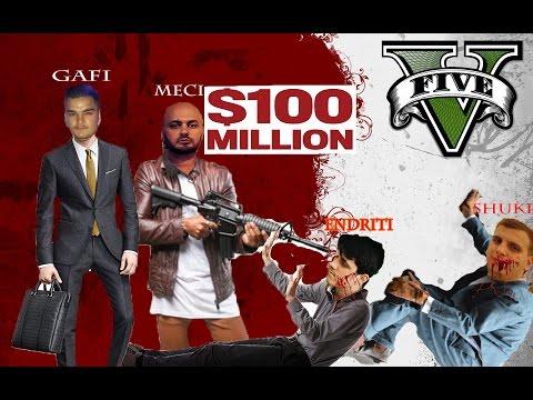 GTA 5 - SHQIP -Vrasja e dy mafiashve per 100 milion dollar !!!!!!