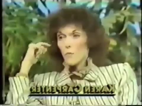 Karen Carpenter at her Anorexic Worst Anorexia Nervosa Part 2   YouTube Karen Carpenter at her Anorexic Worst Anorexia Nervosa Part 2