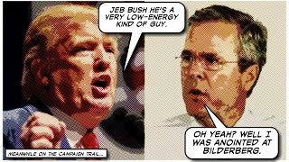 Jeb Bush On the Offensive - Launches New Trump Attack Ad