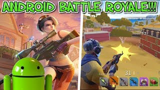FORTNITE ANDROID BATTLE ROYALE BEST CLONE!!! CREATIVE DESTRUCTION!! COME INSTALLARLO!!!