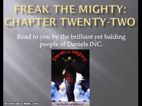 Freak the Mighty chapter 22
