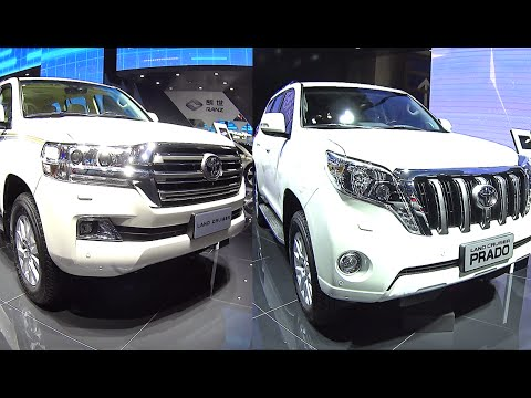 Facelifted 2016 2017 Toyota Land Cruiser Prado Vs 2016