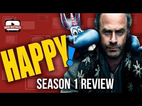 HAPPY Season 1 Review (Spoiler Free!)