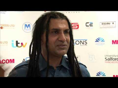 Apache Indian - Celebrating 25 Years in Media at Asian Media Awards 2014
