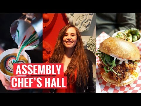 EXPLORING TORONTO | Assembly Chef's Hall