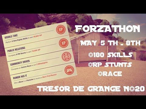 FORZA HORIZON 3 | MAY FORZATHON | 180 SKILLS, PR STUNTS, RACE | 20E TRESOR | FR