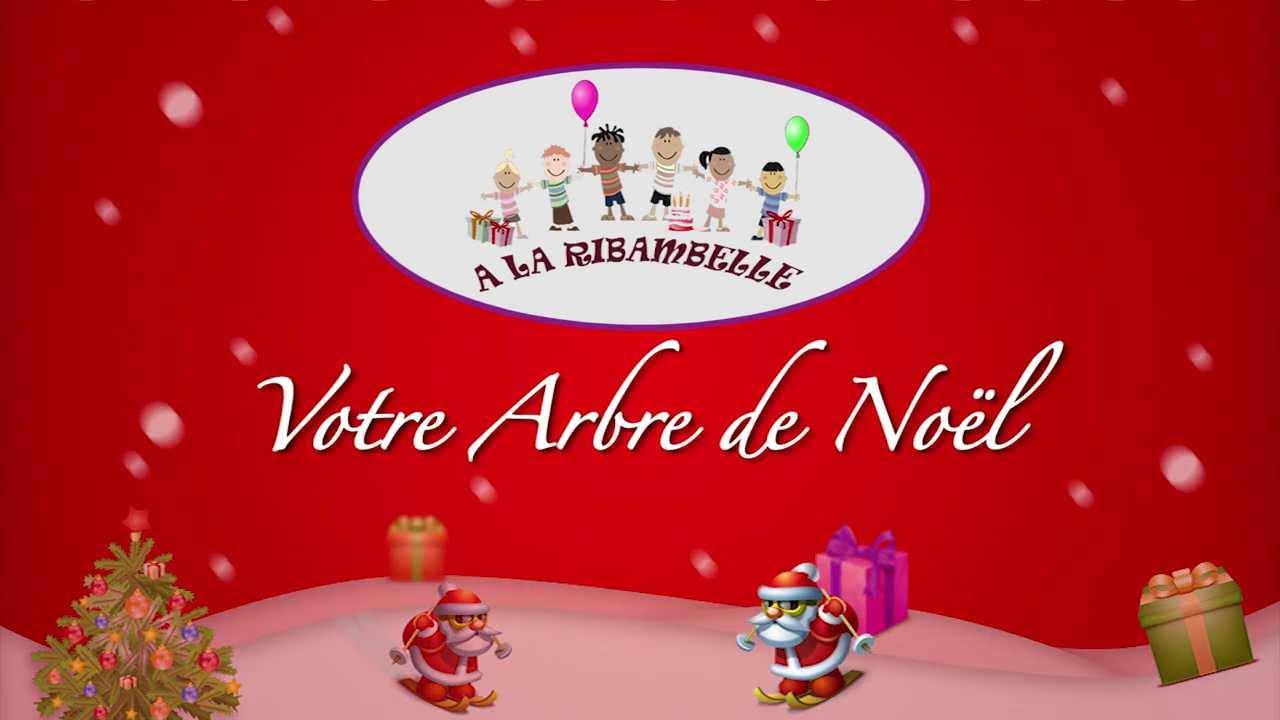 arbre de noel entreprise A la Ribambelle, agence organisatrice d'événements de Noël : Arbre  arbre de noel entreprise