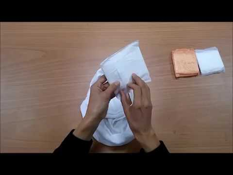 ped takma/ how to use a sanitary pad