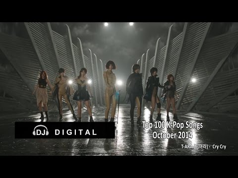 Top 100 K-Pop Songs For October 2014 (Month End Chart)