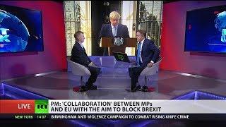 Boris Johnson under fire for 'wrecking' tactics in EU negotiations