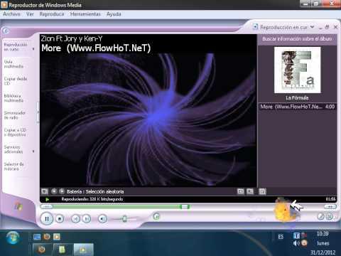 Reducir MP3 en windows XP